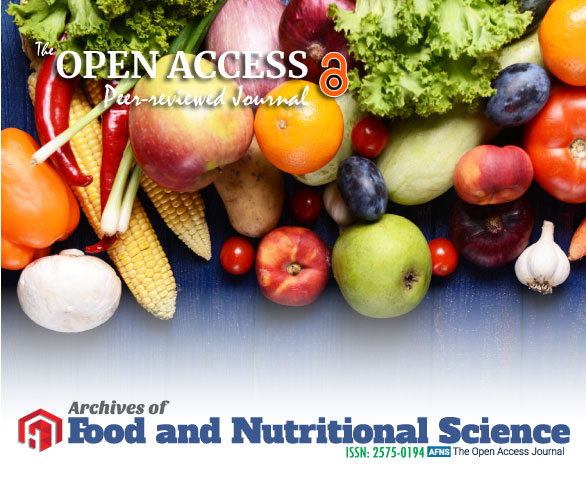Archives of Food and Nutritional Science